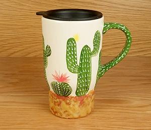 Alameda Cactus Travel Mug
