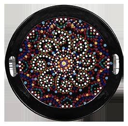 Alameda Mosaic Mandala Tray