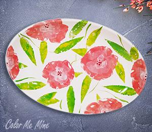 Alameda Floral Paper Stamping