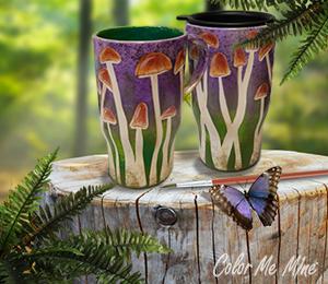 Alameda Mushroom Mugs