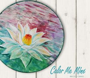 Alameda Lotus Flower Plate