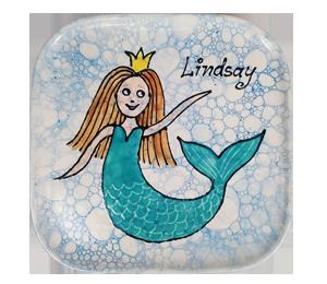 Alameda Mermaid Plate